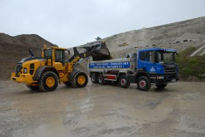 Volvo L90H loading shovel