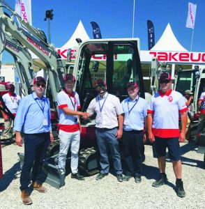 SELWOOD INVESTS IN PLANT HIRE FLEET IN PARTNERSHIP WITH TAKEUCHI