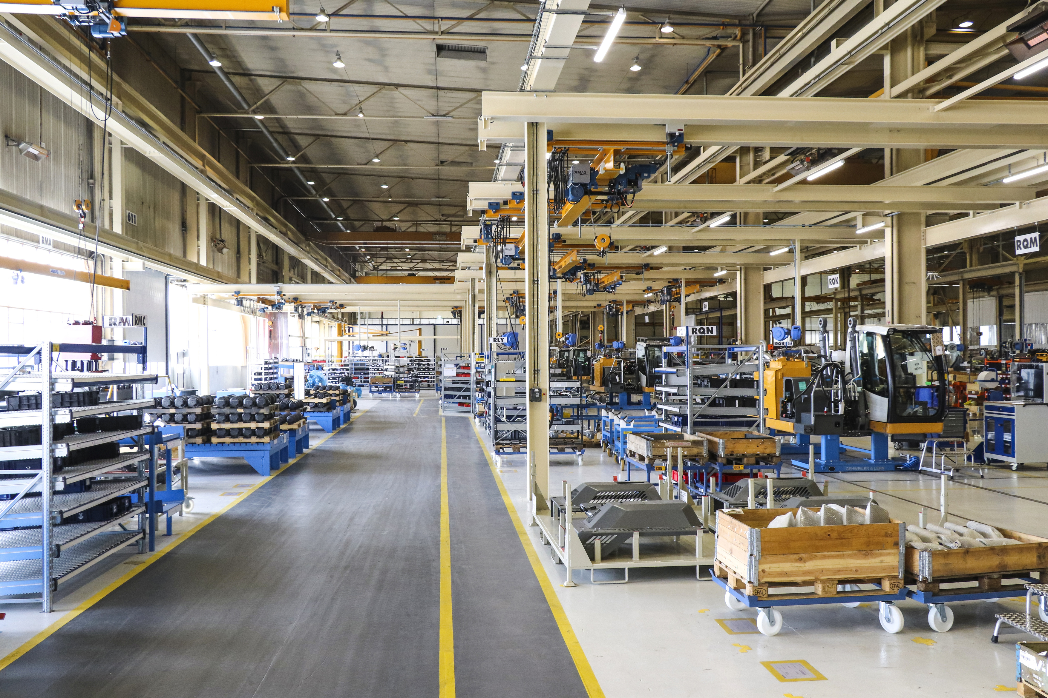 Liebherr-France SAS invests 5 million Euro in new assembly line - UK