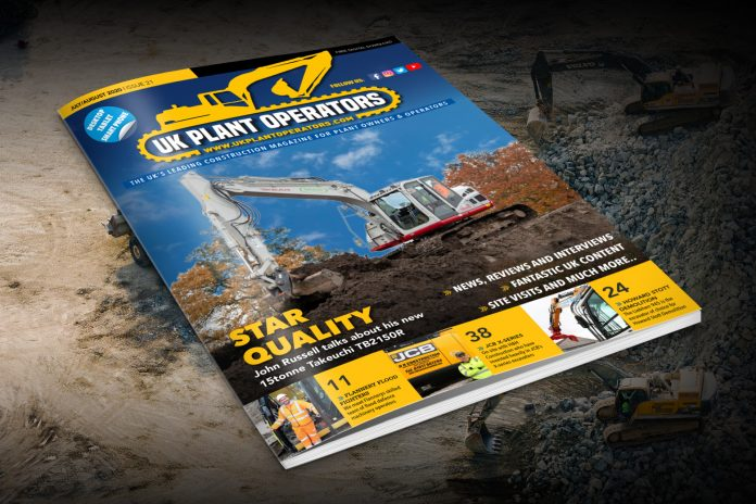 Read the July/August Issue of UK Plant Operators Digital Issue for Free